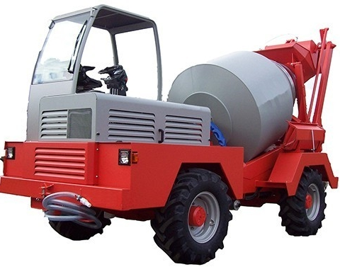 SELF LOADING CONCRETE MIXERS