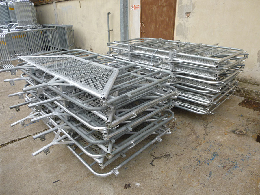 barriere mobili e transenne a Padova
