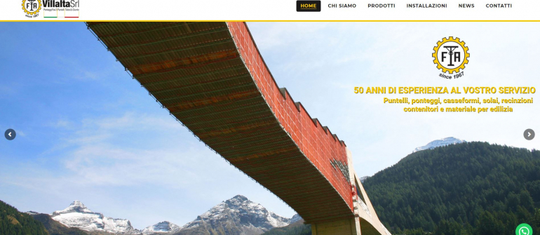 The new Villalta Srl website is online!